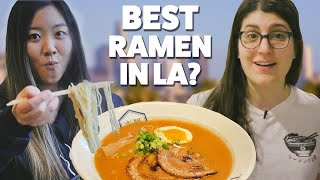 We Found The Best Ramen In Los Angeles In 24 Hours | Food Tournament: Ramen Royale