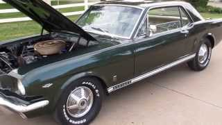 1965 mustang GT, 4 Speed, Matching numbers, very original car, for sale in Texas