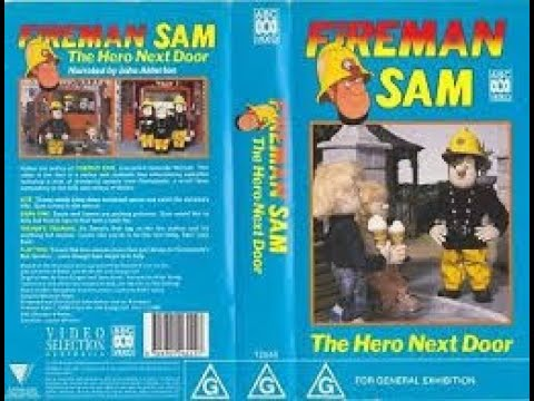 Fireman Sam The Hero Next Door Australian Vhs Youtube