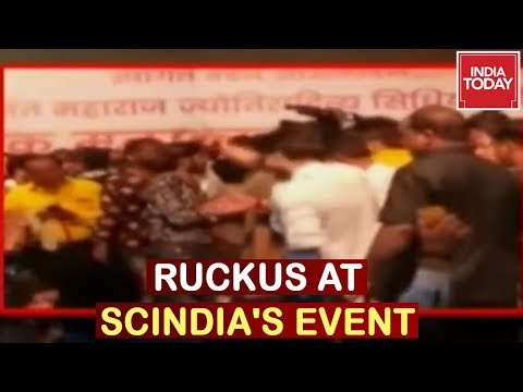 Congress Leaders Crash At Scindia's Even In Madhya Pradesh | Caught On Camera