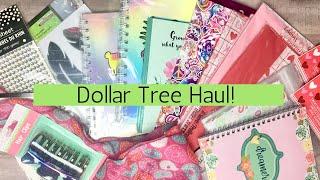 Dollar Tree Haul! | February 8,2019