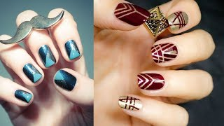 Easy Nail Art Designs For Short Nails For Beginners #3
