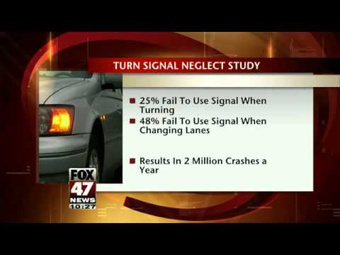 turn signal neglect while driving cause for 2 million accidents youtube. Black Bedroom Furniture Sets. Home Design Ideas