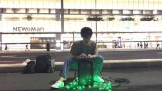 雲のすみかさんの路上ライブを撮影しました。 2017/6/21 @新宿駅 南口付近.