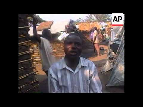 UGANDA:  DR CONGO REFUGEES SEEK SHELTER