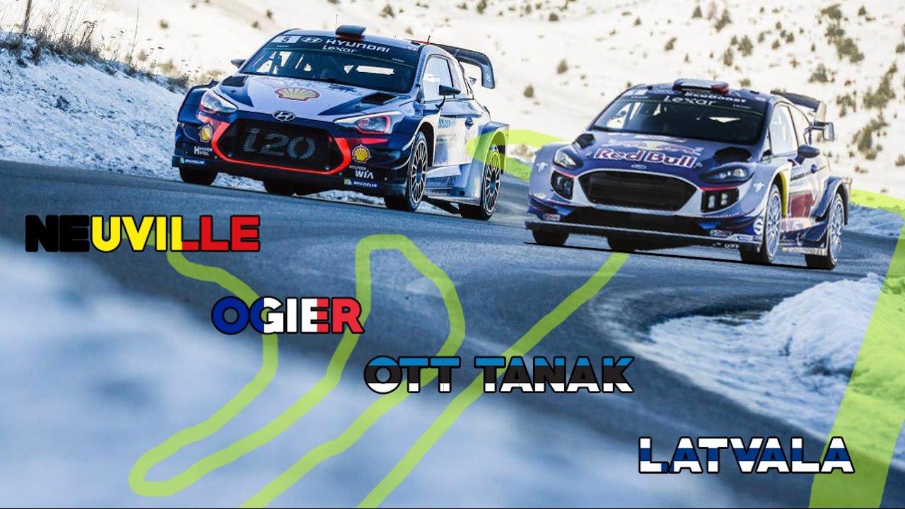 Nem kell mar sokaig jarkalnunk 71 - Ogier Vs Neuville Vs Ott Tanak Vs Latvala Rallye Monte Carlo 2017 Hd