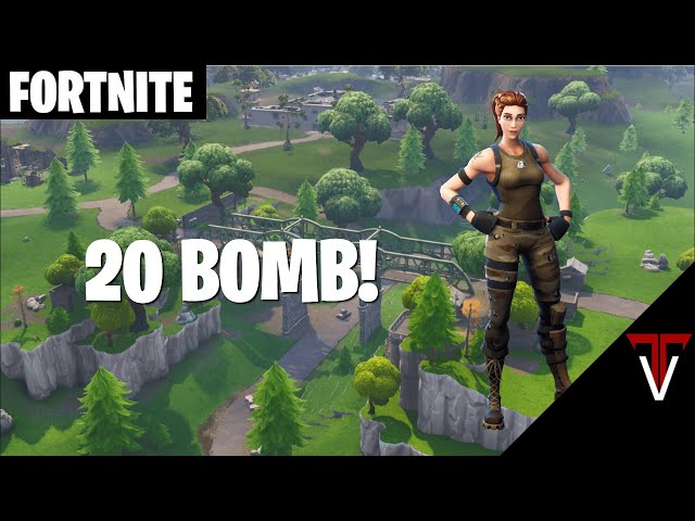 Highlight: [20 BOMB] €onsole €rusader - Fortnite Battle Royale