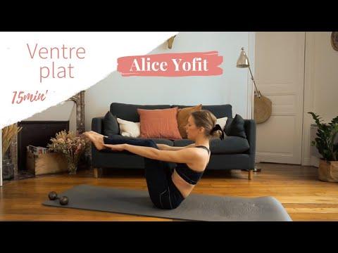 Séance de Yofit en 15 minutes focus ventre plat !