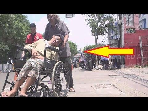 EKSPERIMEN Kakek Dan Nenek Mendorong Kursi Roda Ke Rumah Sakit | SIAPA PEDULI (12/02/19)