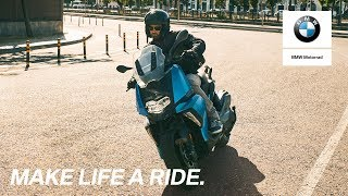 BMW C 400 X: Make more of your city.