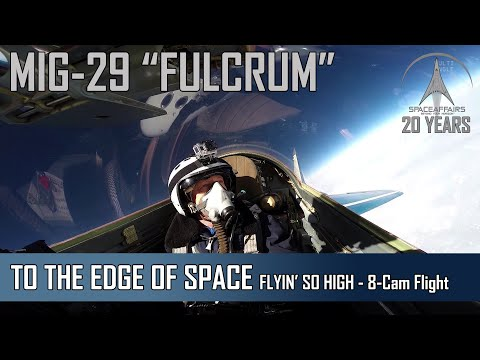 MIG-29 - FLYIN' SO HIGH - 15th Anniversary of Space Affairs