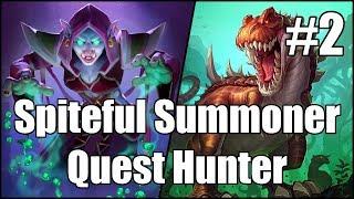 [Hearthstone] Spiteful Summoner Quest Hunter (Part 2)
