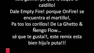 De La Ghetto ft. Varios Artistas- Jala Gatillo Remix Letra Lyrics