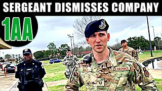 Due Diligence:  SERGEANT WANTS ID & INFO, DISMISSES COMPANY AT MAXWELL AIR FORCE BASE IN ALABAMA