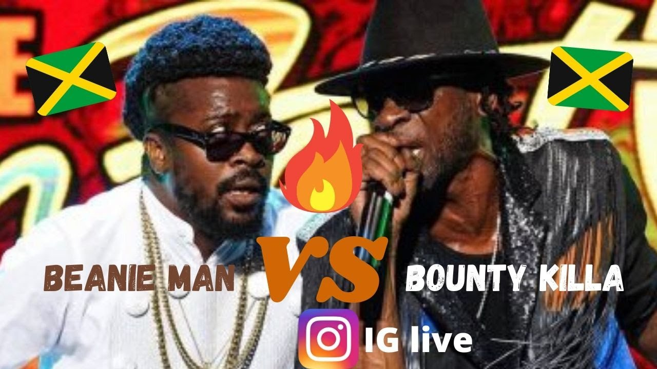 What a moment in history!!! Bounty killa vs Beenie man IG live 🇯🇲🐐