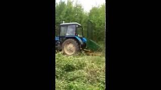 Кусторез К-1.7 на трактор МТЗ-82/ WWW.KUSTOREZ.COM