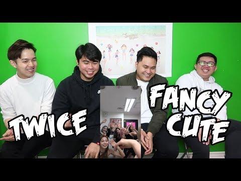 TWICE - FANCY CUTE VIDEO REACTION (FUNNY FANBOYS)