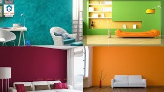Awesome wall colour combination ideas   Wall color design ideas   wall painting designs ideas