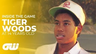 Download Tiger Woods Interview as Young  14-Year-Old | Golfing World Mp3 and Videos