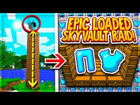 EPIC SKYVAULT RAID WITH TONS OF GEAR! | Minecraft Factions | SaicoPvP | Overlord Realm [11]