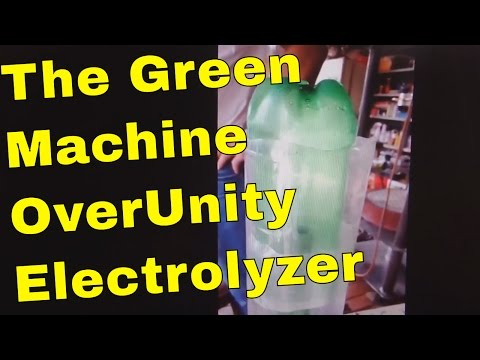Free Energy HHO OverUnity Electrolyzer - The Green Machine from FreeEnergyParty.org