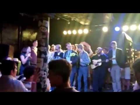 Sweet Home Alabama sung at Karaoke night during Mises University 2015