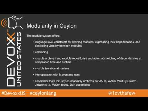Ceylon on Android by Gavin King