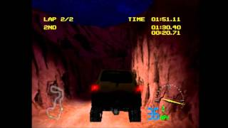 Test Drive Off-Road 3 (PS1) Gameplay 10 (Division 2, Cup 1, Race 1) - Nissan Xterra