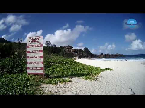 Bicycle Trip around La Digue Seychelles in June 2017