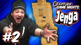 THE SWAY - Jenga Part 2 | Creature Game Nights