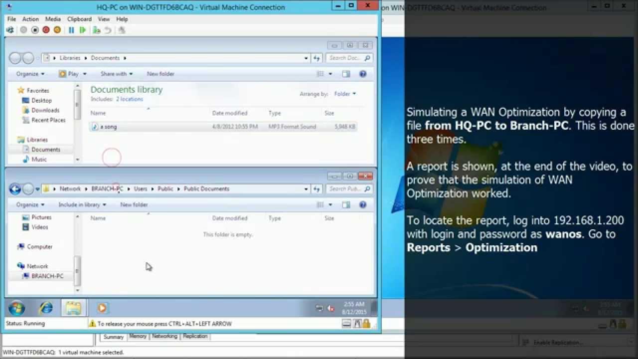 Download Wanos Full Lab on Hyper-v