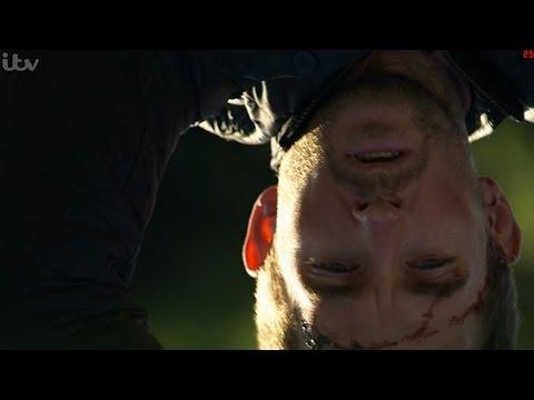 Emmerdale - Ross Hangs Pete Over A Bridge