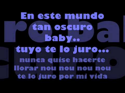 solo y vacio *De La Ghetto* (con letra).wmv
