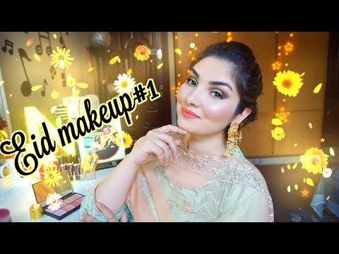 EID MAKEUP TUTORIAL 2018 IN HINDI/URDU || NISHOO KHAN