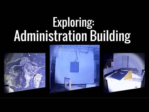 Abandoned Deaf and Blind School: Administration Building