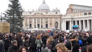 Christmas 2014 : Vatican City St. Peter