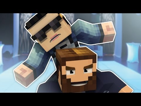 "Minecraft: Bed Wars! ""GANGNAM STYLE GUY PLAYS MINECRAFT??"""