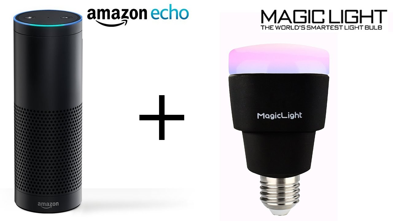 set up amazon echo with magiclight wifi smart bulbs youtube. Black Bedroom Furniture Sets. Home Design Ideas