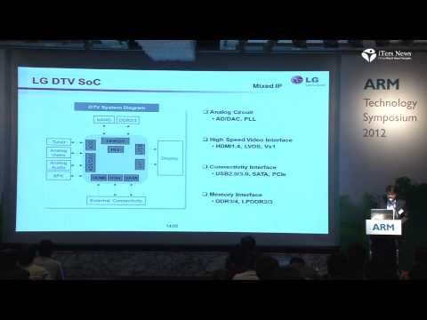 ARM Technology Symposium 2012 Seoul Partner Keynote LG 20121120