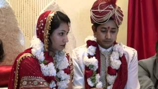 Beautiful, Indian, Romantic traditional Hindu Wedding Video - Skilled, professional Videographers
