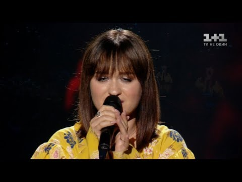 Olena Lutsenko 'Kolyskova zori' – The Final – The Voice of Ukraine – season 8