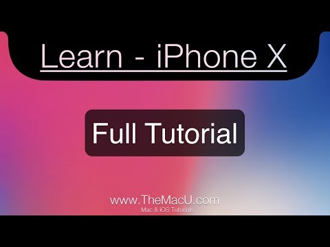 iPhone X (XS) (XR) - Full Tutorial