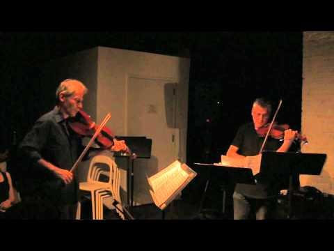Mark Feldman in duo with Garth Knox -