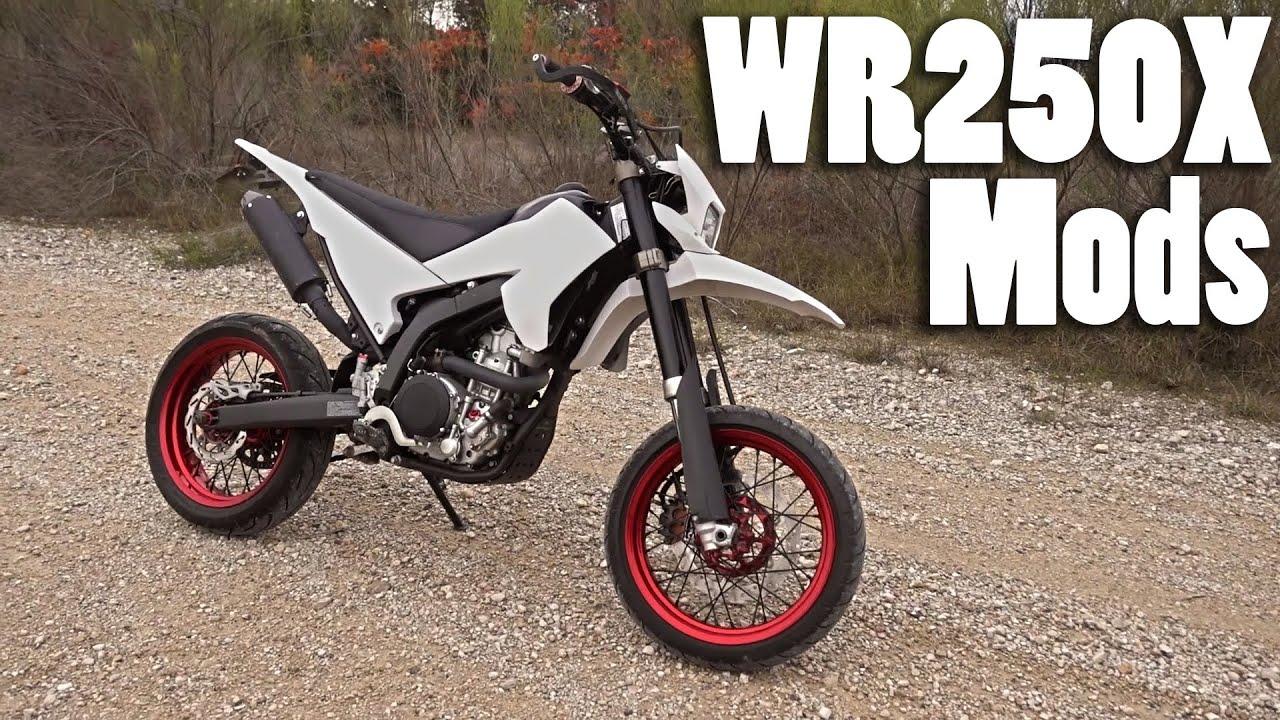 Yamaha WR250X Mods - YouTube
