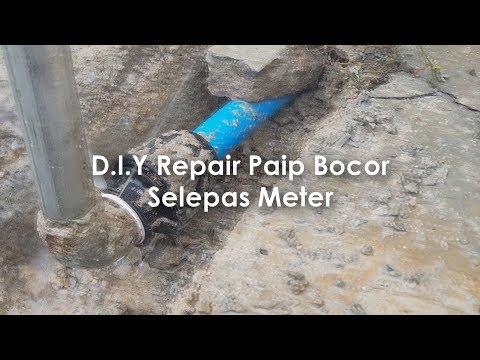 DIY Repair Paip Selepas Meter