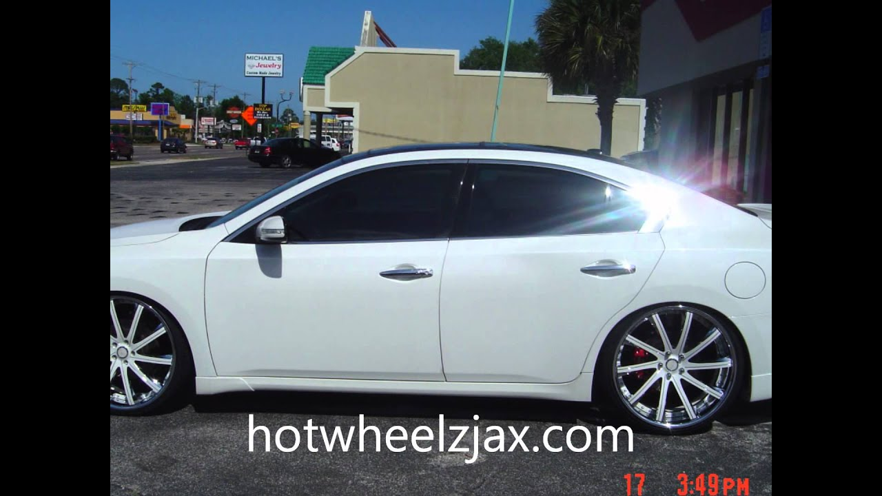 2011 Nissan Maxima On Staggered 22 Quot Savini S Hot Wheelz