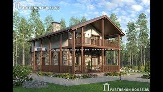 Проект небольшого дома с мансардой для большой семьи ПА-1369П