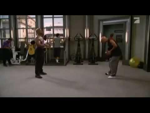 Терри Крюс - типа тренировка