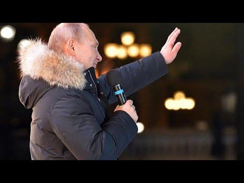 Vladimir fait le plein des voix