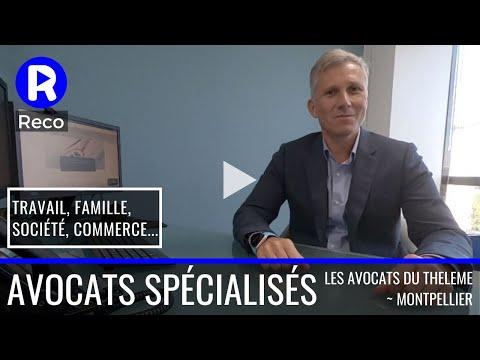 Avocats Spécialisés En Droit Divers ; Les Avocats Du Thélème à Montpellier Et Béziers.